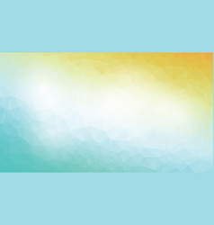 abstract modern blue yellow background vector image