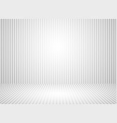 Abstract white and gray wall room background vector