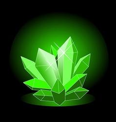 crystal3 vector image