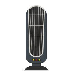 Floor heater icon flat style vector