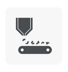 metal product icon vector image