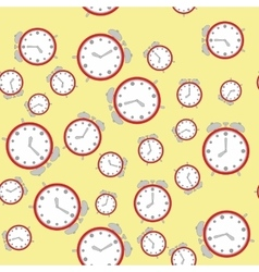 Seamless pattern with watches 572 vector image