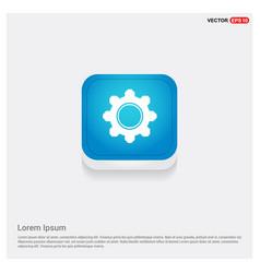 setting icon vector image