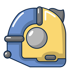 Tape measure icon cartoon style vector