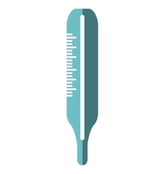 thermometer medical isolated icon vector image