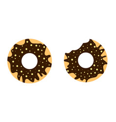 donuts3 vector image vector image