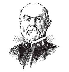 louis kempff vintage vector image vector image