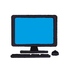 Computer equipment technology vector
