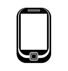 Cellphone mobile technology pictogram vector