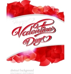 Happy Valentine s Day vector image