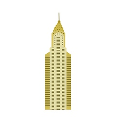 Icon building vector