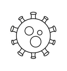 novel coronavirus concept chinese coronavirus vector image