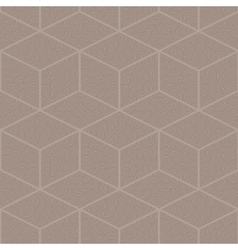 Seamless abstract pattern of diamonds vector image