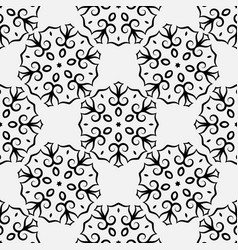Seamless pattern in eastern oriental islamic vector
