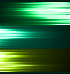 abstract background with colorful glowing lines vector image
