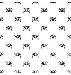 Crab sea animal pattern vector