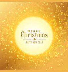 premium golden background for christmas festival vector image