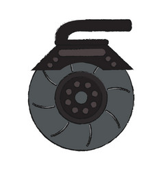 Rotor car icon image vector