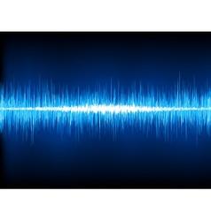 Sound waves oscillating vector