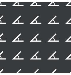 Straight black angle pattern vector