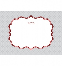 elegant template vector image vector image