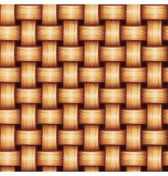 Seamless Wicker Texture vector image