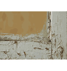Background wood texture frame vector