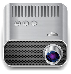 Icon for projector vector image vector image