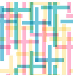 Cross seamless pattern vector