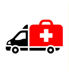 delivery trucks flat icon vector image