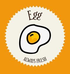 Egg design vector