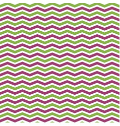 Greenery and pink chevron seamless pattern vector