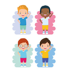 kids zone image vector image