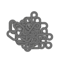 Line Ornament vector
