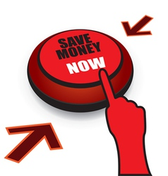 save money now button vector image
