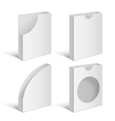 Set folders holders vector