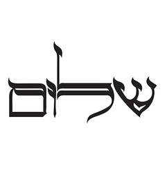 Shalom vector
