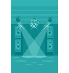 Background of night club vector image