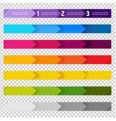 number line background vector image vector image