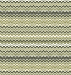 Seamless vintage pattern of thin zigzag chevron on vector image vector image