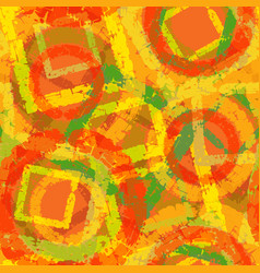 Abstract grunge seamless pattern autumn camouflage vector