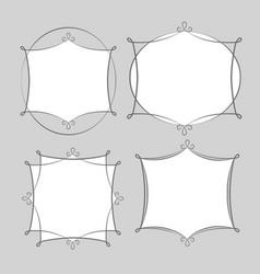 Frames set vector