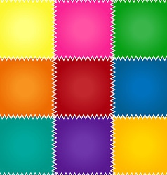Seamless patchwork or quilt vector
