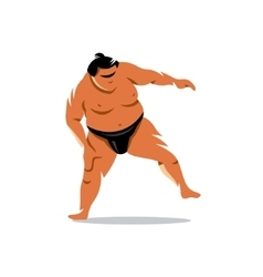 Sumo Cartoon vector image