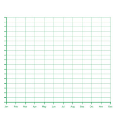 Ratings line graph line chart graph paper vector