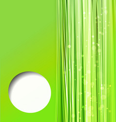 Abstract colorful green background vector
