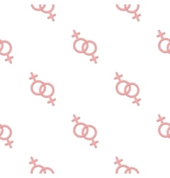 Feminine icon cartoon pattern gay icon from the vector