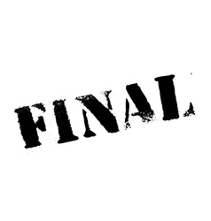 Final rubber stamp vector