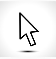 Mouse cursor sign icon vector