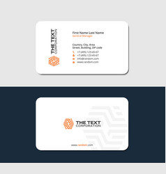 Tile flooring business card vector